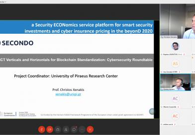 "SECONDO on ""ICT Verticals and Horizontals for Blockchain Standardization"""